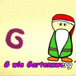 Learn german for kids – learn letter G in german – German alphabet | Der Buchstabe G